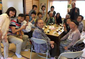 川内村訪問